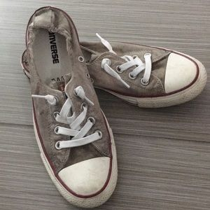Converse Brown sneakers, W size 8.5.